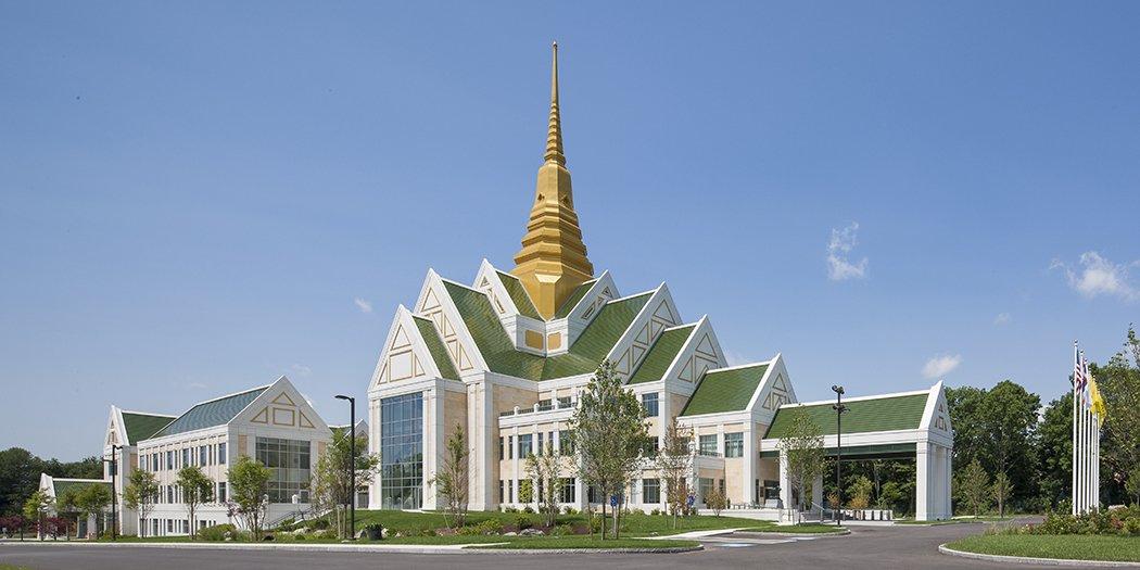 Wat Nawamintararachutis Thai Temple and Meditation Center (NMR), Raynham, Mass. - Photography by John Horner