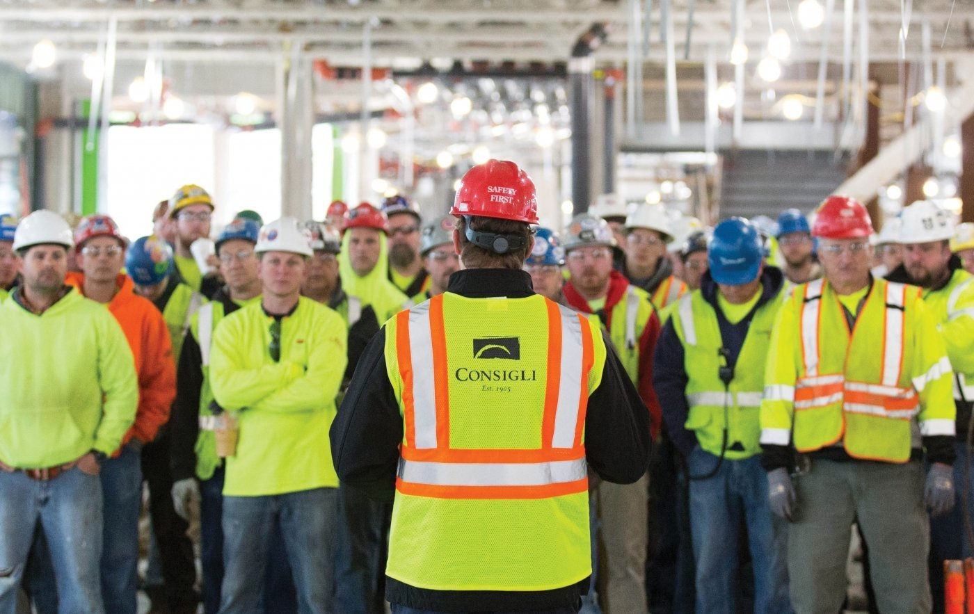 Employee-Owned Consigli Construction is ENR New England's