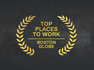 Top Place to Work Boston Globe 2019